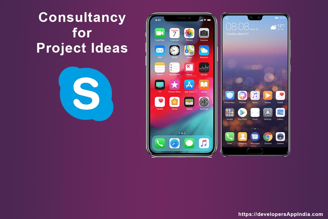 project consultancy android and IOS app